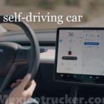 Tesla self driving car at mexicotrucker.com