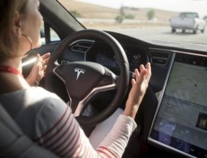 Tesla-self driving car