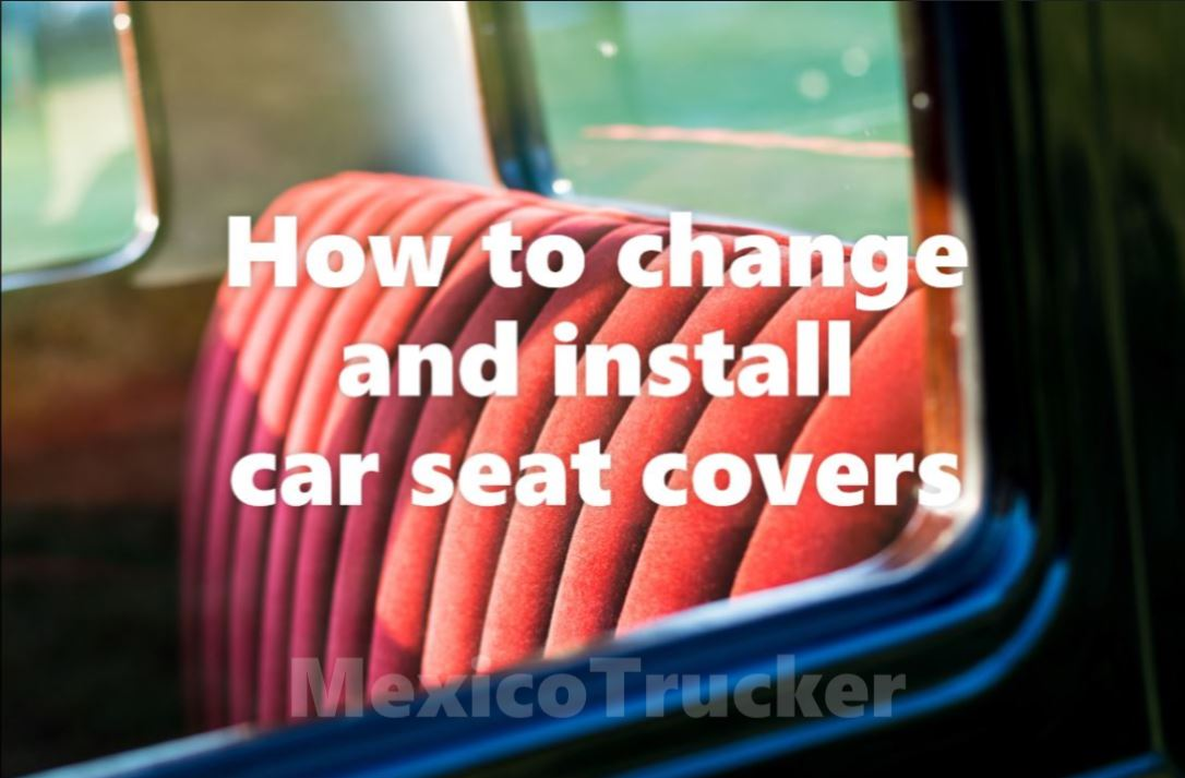 install car seat covers