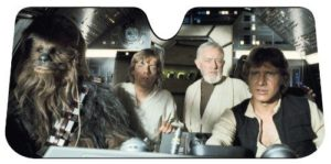 car windshield shade starwars