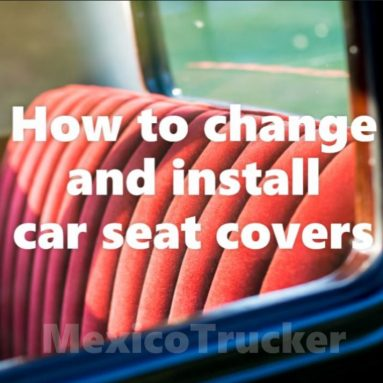 How To Change And Install Car Seat Covers